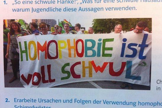 """""""So eine schwule Flanke!"""" – Ethiklehrbuch der Realschulen"""