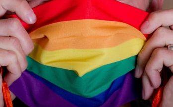 Regenbogenmaske